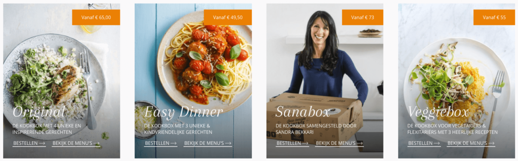 foodbag boxen