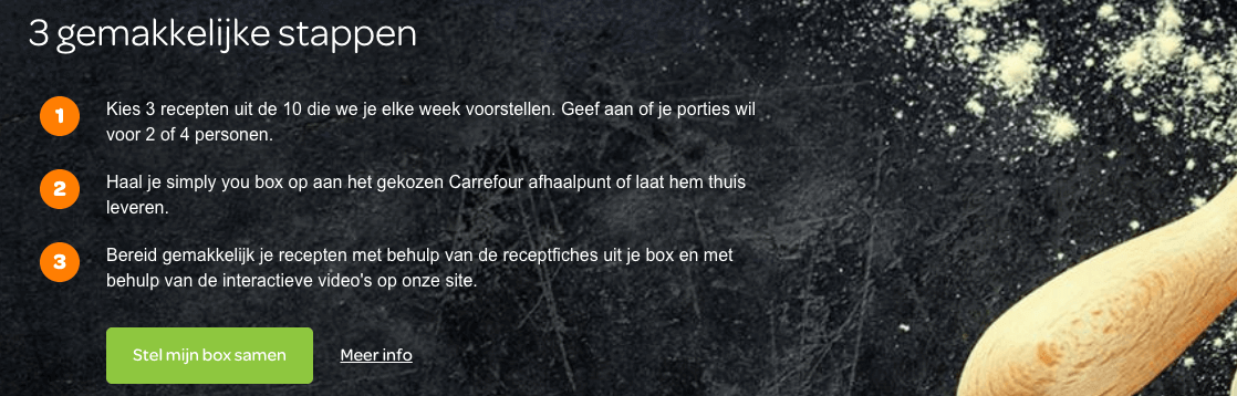 hoe werkt simply you box carrefour