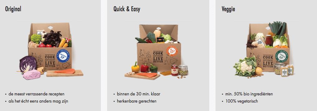 kortingscode maaltijdbox van smartmat